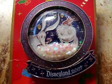 Jack and Zero LE 1000 Christmas Snow Globe WDW Pin Mint