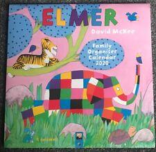 Elmer Family Organiser Wall Calendar 2020