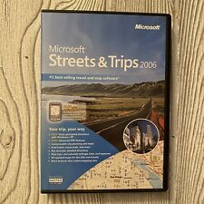 Microsoft Streets and Trips 2006 (PC) 2 Disc