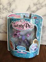Twisty Petz Series 3 Kooly Koala Bear Fuzzy Purple Pom Gems New