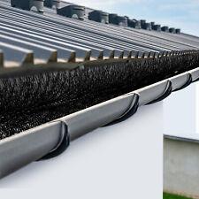 VEVOR Gutter Brush Simple Roof Leaf Gutter Guard Cover w/ Bristle 3ft long-5pcs