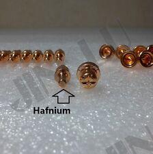 10pcs Hafnium electrode + 10pcs short tip CT520D LT5000D 50R 40R 5000D 5200DX