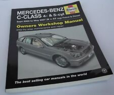 Mercedes-Benz C-Class Service and Repair Manual. X to 07 Softcover, 2014.
