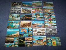 24  postcards of Jersey - Channel Islands  -  7 blank,  17 written on