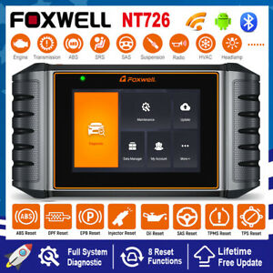 Car All System Scan Diagnostic Tool Injector EPB DPF Oil Reset OBD2 Code Reader