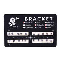 1 Pack Dental Orthodontic Brackets Braces Standard MBT Slot.022 3-4-5 Hooks