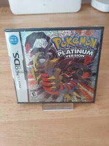 Pokémon Platin Edition NEU & Versiegelt Platinum Version Nintendo DS Spiel