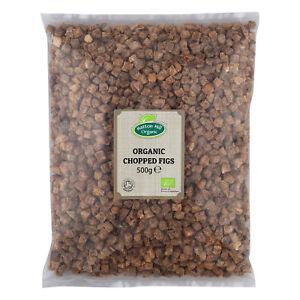 Organic Chopped (Diced) Figs 500g Certified Organic
