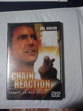 CHAIN REACTION rare Thriller dvd Nuclear Power Plant disaster MEL GIBSON 1970s