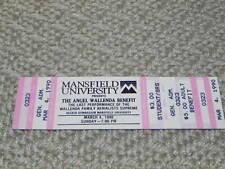 Circus Tickets Mansfield University Last Performanace Wallenda Aerialists 1990
