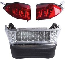 Club Car Precedent Golf Cart LED Headlight & Tail Light Kit (Gas 2004 & Up)