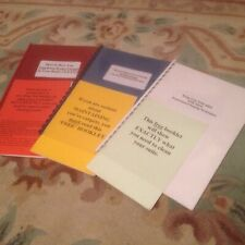 3 carpet & upholstery guidebooks, professional cleaning results guaranteed!