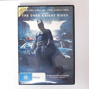 The Dark Knight Rises Movie DVD Movie Region 4 Free Post - Action Superhero