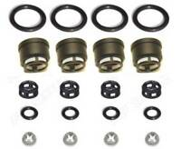 Side Feed Fuel Injector Filter Seal Oring Kit 05-06 for Subaru Turbo Legacy 2.5L
