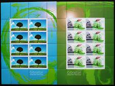 Gibraltar 2016 Mi. 1727-28 Kleinbogen ** MNH Europa Cept Green Umwelt Mi. 70,--€