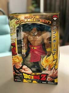 DBZ Movie Collection: Super Saiyan Legendary Blue Broly Jakks ** MUST SEE **