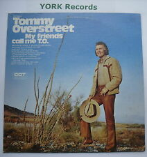 TOMMY OVERSTREET - My Friends Call Me T.O. - Ex Con LP Record Dot DOS-26012