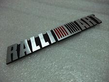 Aluminum Emblem Car Badge Sticker Decal 3D LOGO For RALLIART