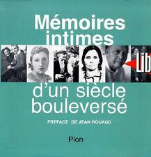 Memoires Intimes D'un Siecle Bouleverse - LP