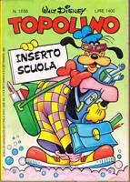 TOPOLINO LIBRETTO - N.1685 - 6 SET. 1987 - WALT DISNEY