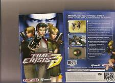 TIME CRISIS 3 PLAYSTATION 2 PS2 NAMCO G CON 45 SHOOTER