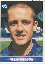 N°261 ALEX TAYLOR # SCOTLAND RAITH ROVERS.FC STICKER PANINI SCOTTISH LEAGUE 1997