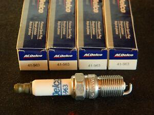 (4) ACDELCO 41-963 GM PLATINUM SPARK PLUGS FOR CAVALIER CAPRI SUNFIRE GRAND AM