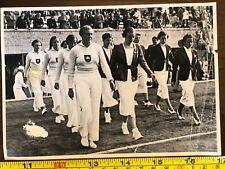 More details for olympia 1936 women german walk olympics pamflet print original very rare
