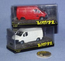 Verem 1/87 (!!!) : Ford Transit Postes Belges et Ford Transit Version Usine
