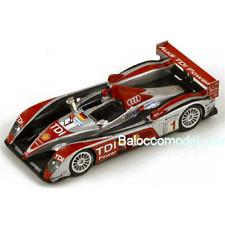 AUDI R 10 N.1 6th Le Mans 2008 1:87 Spark Model Auto Competizione Die Cast