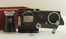 VINTAGE LEICA LEITZ CAMERA OOZAB FOCUSING STAGE OF THE REPROVIT WITH MAGNIFIER