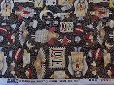 "Lovely Love Angels Fabric Debbie Mumm 45 1/2"" x 2 Yds. 5"""