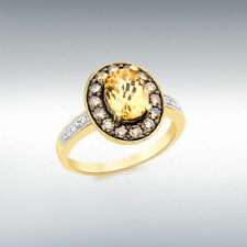 Excellent Cut Oval SI1 Fine Diamond Rings