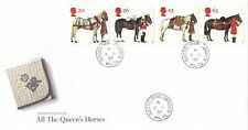 (94448) CLEARANCE GB FDC All the Queens Horses Queens Dr Swindon CDS 8 July 1997