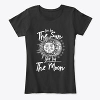 Long-lasting Live By The Sun Love Moon Women's Women's Premium Tee T-Shirt