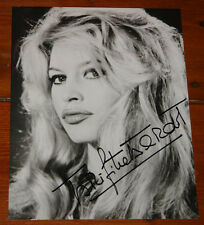 BRIGITTE BARDOT ~ AUTHENTIC BEAUTIFUL HAND SIGNED 10 x 8 AUTOGRAPH PHOTOGRAPH 8
