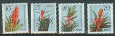 DDR Briefmarken 1988 Orchideen Mi.Nr.3149 bis 3152**