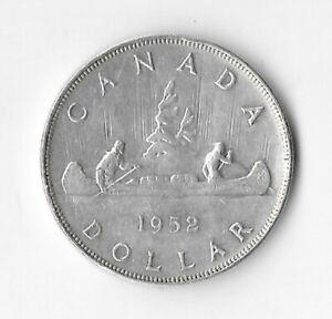 1952 WL Canadian Silver Dollar (see description)