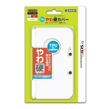 F/S HORI Yawa-Kata  Semi hard TPU Cover for 3DS LL XL Clear From Japan