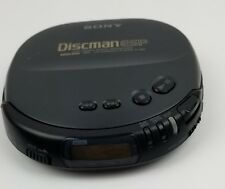 Sony Discman Mega Bass D-245 Compact Cd Player Shock Protection Good Working