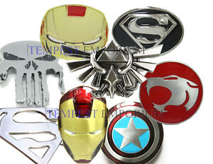 Superman Ironman Zelda Thundercats Batman Belt Buckle New Marvel Captain America