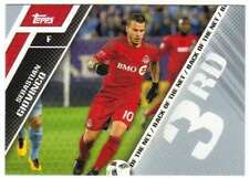 2017 Topps MLS Soccer Back of the Net #BOTN-3 Sebastian Giovinco Toronto FC