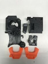 Prusa i3 MK2.5 MK3 latest R3 extruder upgrade printed parts IN Prusa black PETG