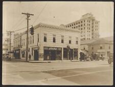 1910's WEST PALM BEACH Florida/FL CABINET PHOTO OF JACK'S CIGAR SHOP STORE