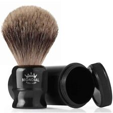 Mondial 1908 Best Badger Travel Shaving Brush Black