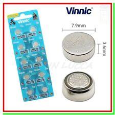 10 Batterie Pile VINNIC LR41 AG3 G3 L736F 192 GP92A 392 SR41 384 SR736SW SR736W