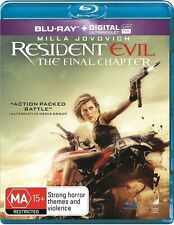 The Resident Evil - Final Chapter (Blu-ray, 2017) NEW