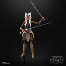6 Inch SCALE Ahsoka Tano Jedi Figure Star Wars Black Series Collection TBS LOOSE