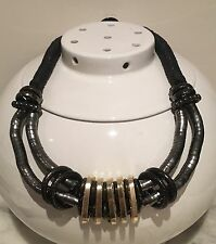 Wedding Party Prom Chunky Gothic Punk Primitive Shapable Statement Necklace