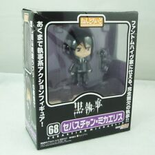 "Nendoroid 4"" Black Butler Sebastian Michaelis PVC Action Figure Toy Doll #68"